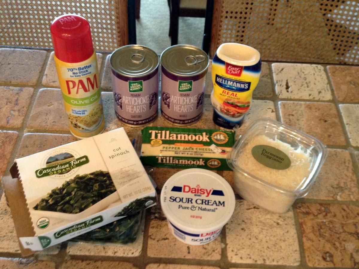 Spinach + Artichoke Dip | Hugs 'n Kitchen