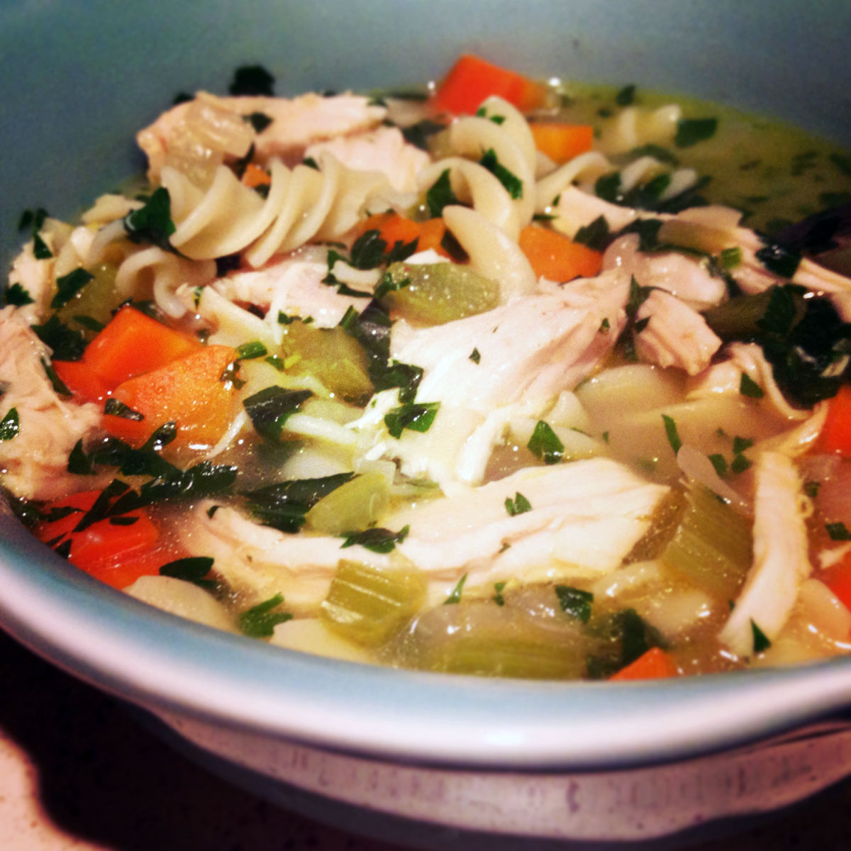 Gluten-Free Chicken Noodle Soup   Hugs 'n Kitchen