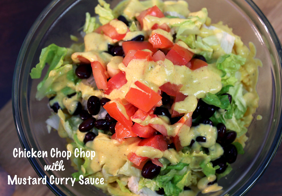 Chicken Chop Chop with Mustard Curry | Hugs 'n Kitchen