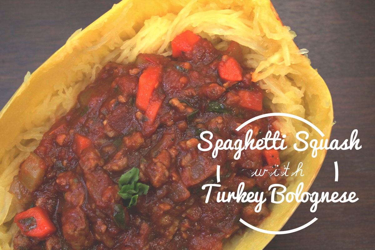 Spicy Turkey Bolognese | Hugs 'n Kitchen