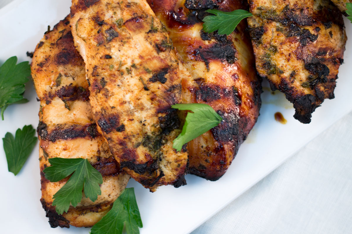 Lime + Tequila Grilled Chicken with Parsley | Hugs 'n Kitchen