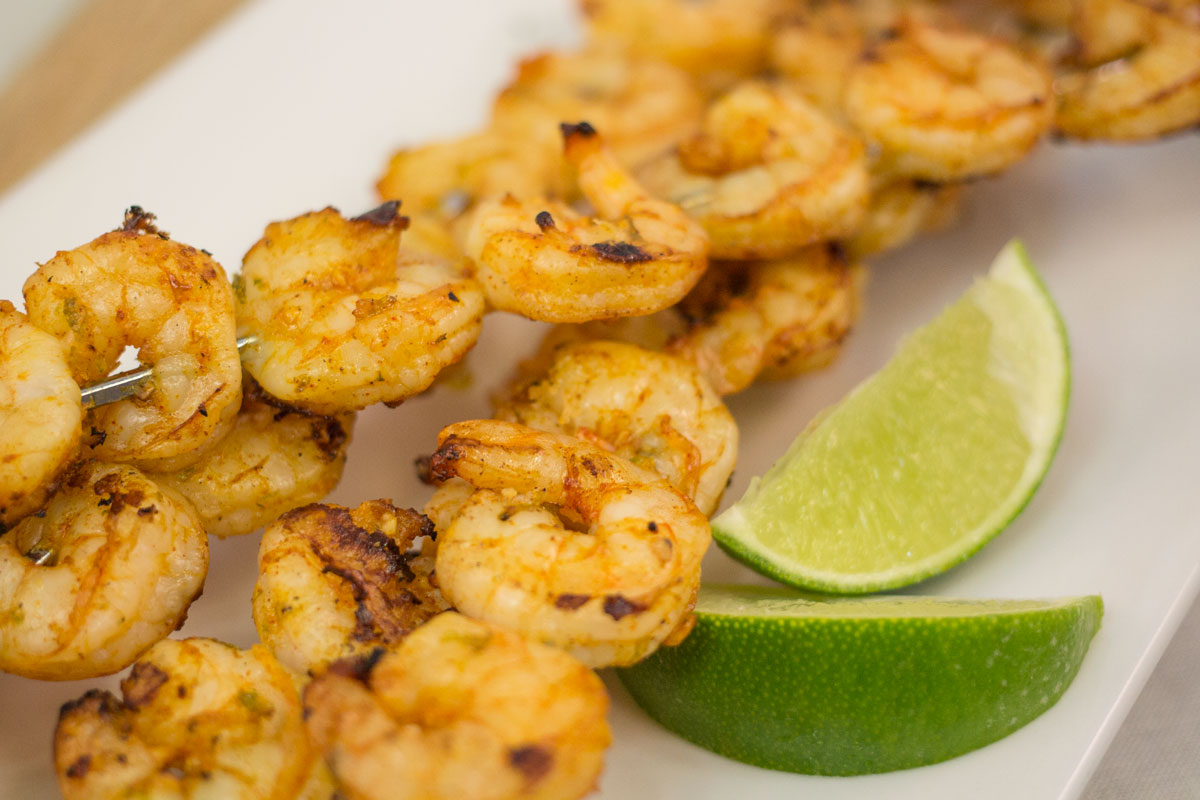 Grilled Lime Shrimp | Hugs 'n Kitchen