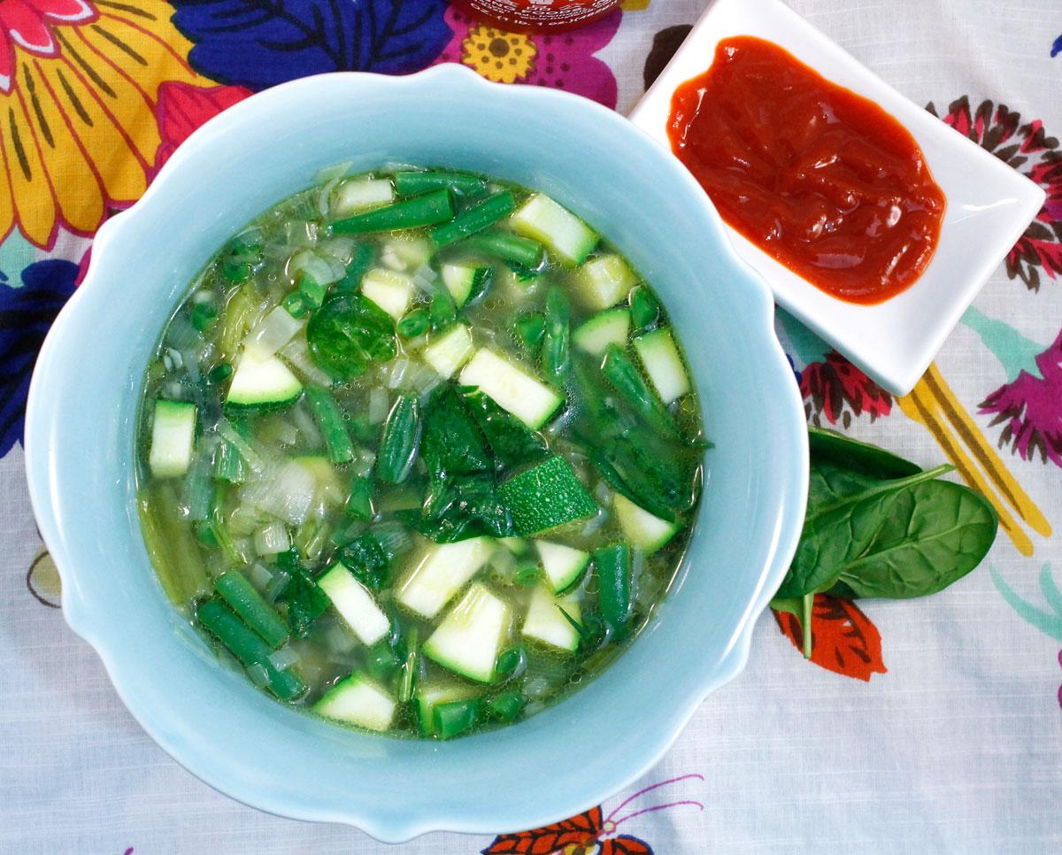 Spring Vegetable Soup   Hugs 'n Kitchen