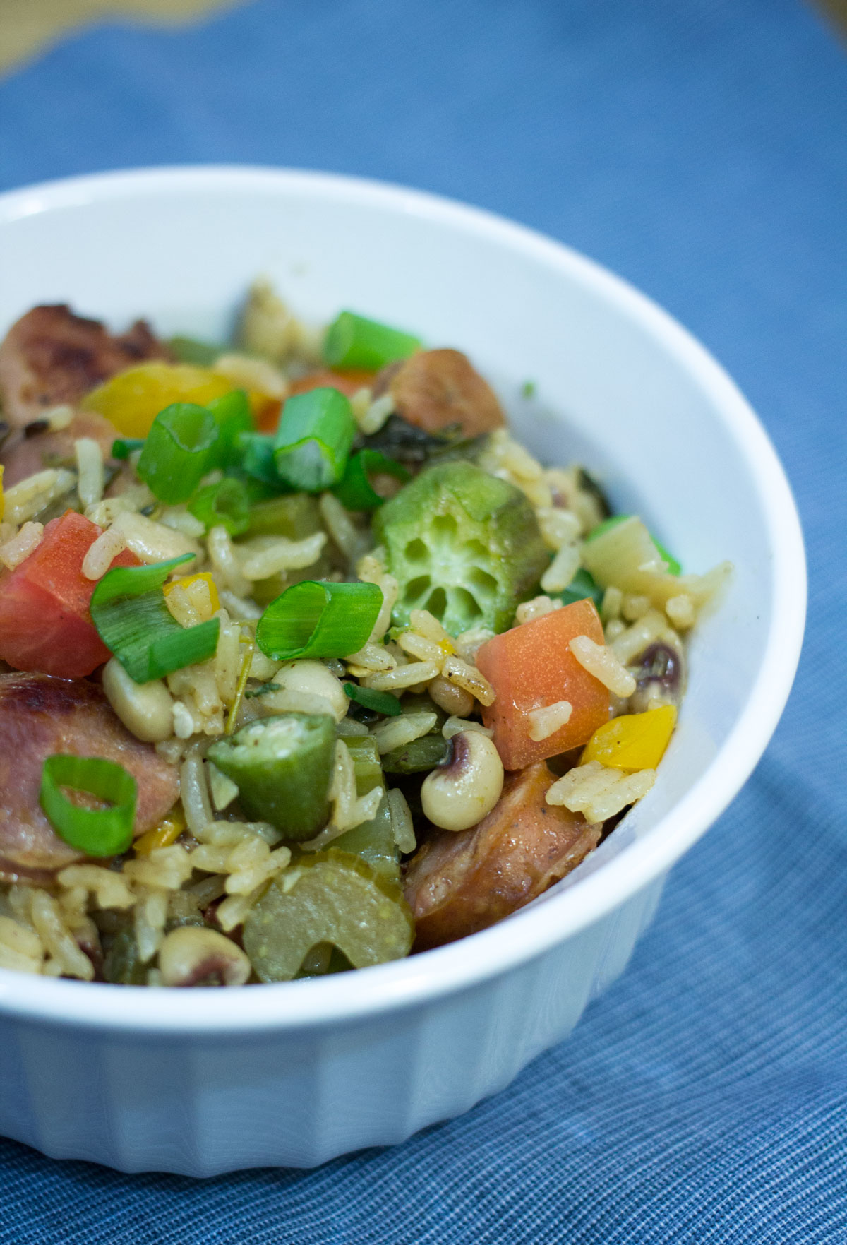 Hoppin' John with Andouille | Hugs 'n Kitchen